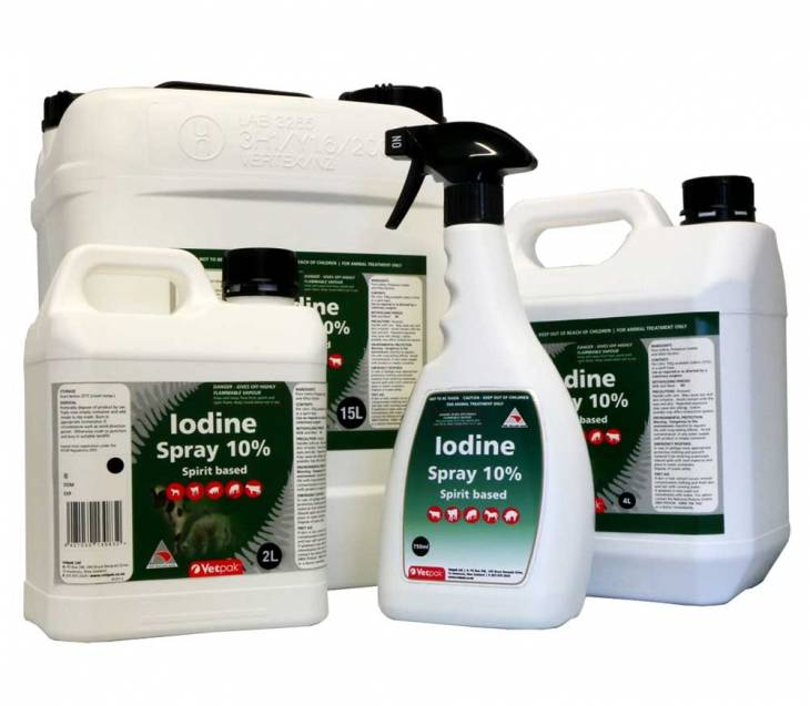 Iodine Spray 10%